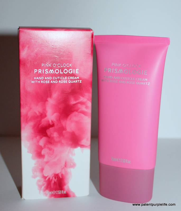 Prismologie Pink O'Clock Hand and Cuticle Cream