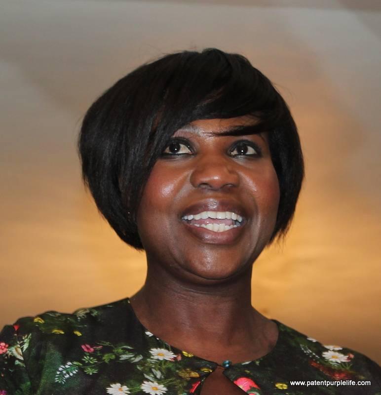 Charlotte Mensah Manketti Oil Launch