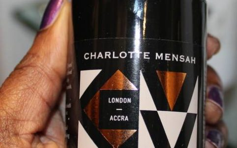 Charlotte Mensah Manketti Oil Launch