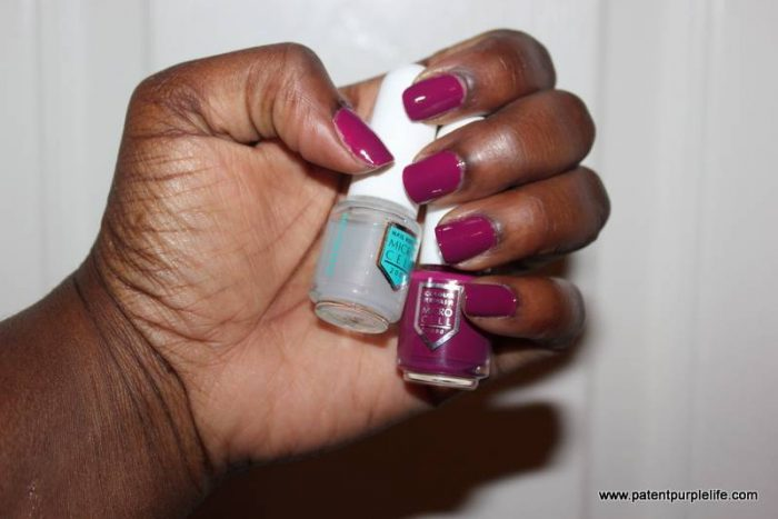 Micro Cell Nail System Swatch Woc