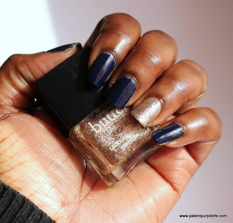 Talon Talons featuring Tinu Bello, Colour Riot Nails and Butter London - Patent Purple Life Beauty Blog