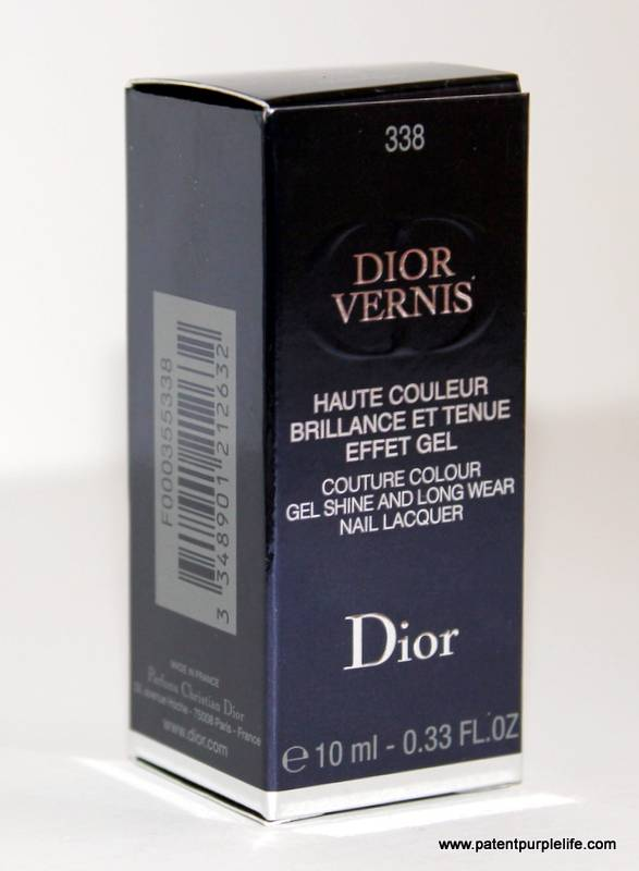 Dior 338 Mirage Nail Polish