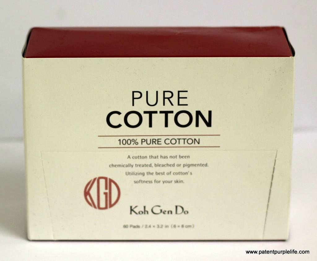 Koh Gen Doh Pure Cotton