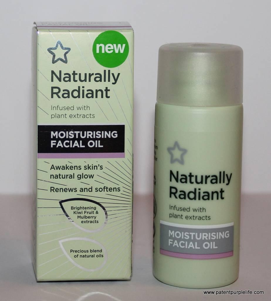Natural Radiant Moisturising Facial Oil