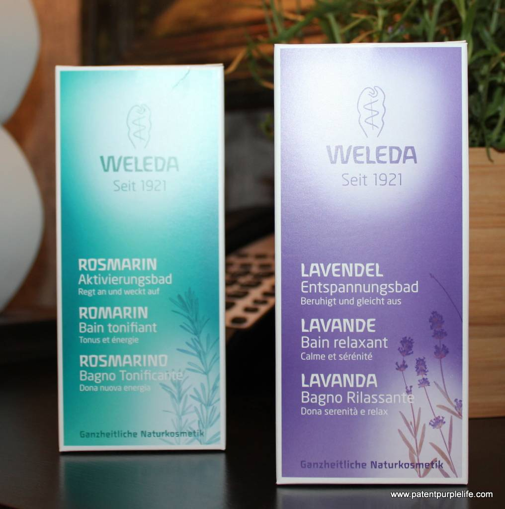 Weleda Lavender and Rosemary Bath Milk