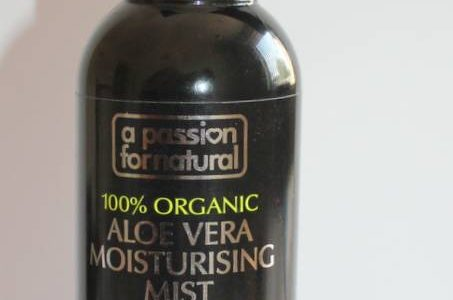 A Passion For Natural Aloe Vera Mist