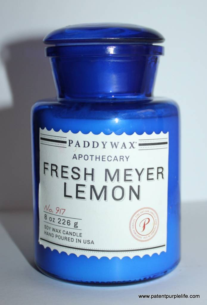 Paddywax Fresh Lemon Meyer Candle