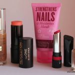 Five from the highstreet/drugstore #1 featuring Max Factor, superdrug, Makeup Revolution, Barry M and Rimmel