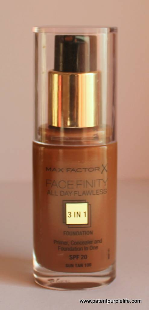 Five from the highstreet drugstore #1 Max Factor All Day Flawless in Suntan