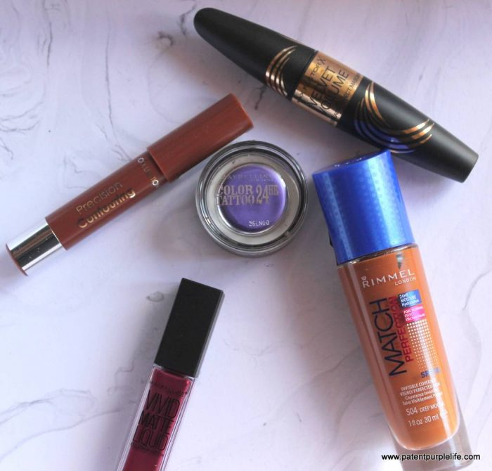 Five from the highstreet featuring Maybelline, Max Factor, Collection and Rimmel
