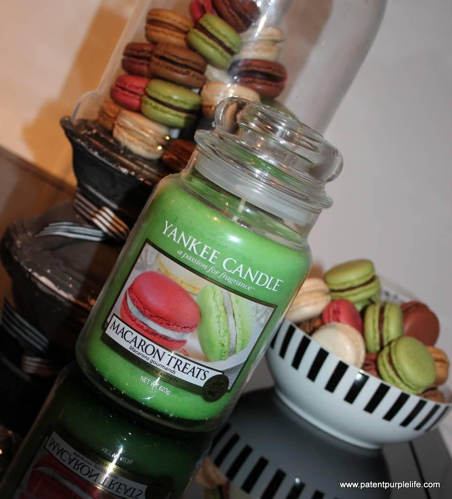 Yankee Candles Macaron Treats