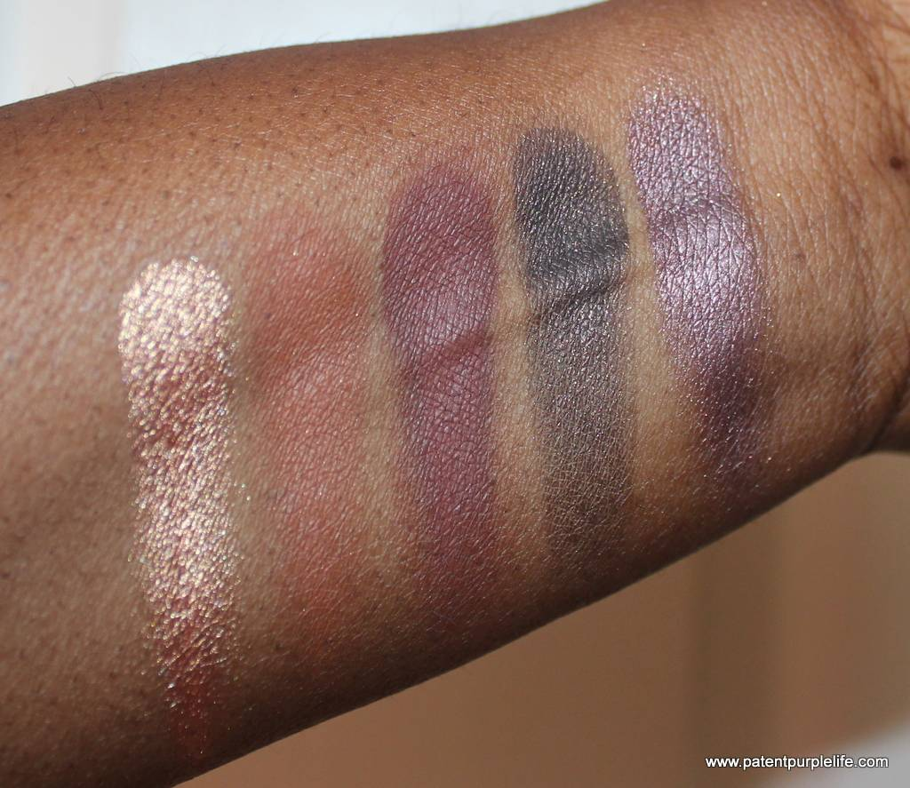Zoeva Cocoablend Palette Bottom Row Swatches WoC
