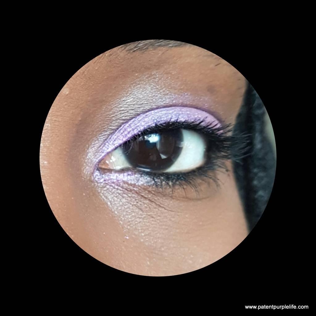 Violet Shimmer Illamasqua WoC Swatch