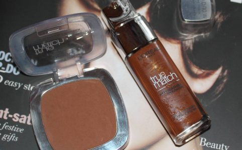 True Match Liquid Foundation and Powder in 10W