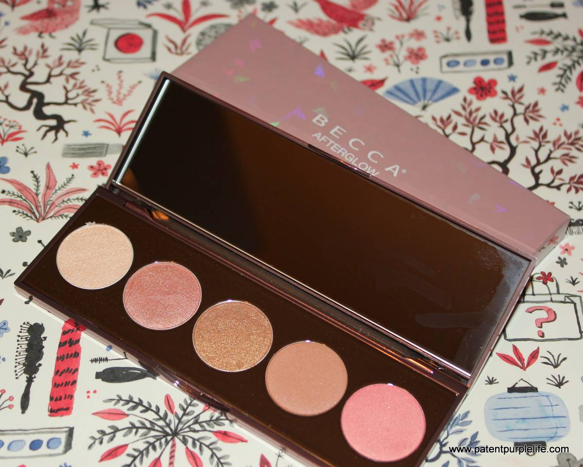 #luckybag2017 Becca Afterglow Palette