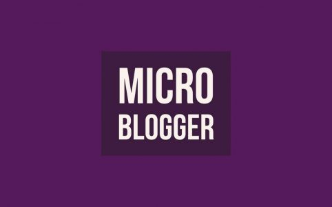 Patent Purple Life Micro Blogger