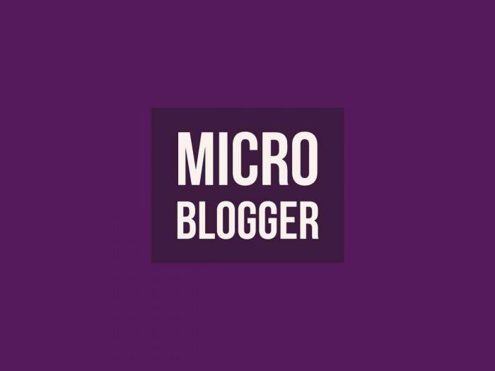 Patent Purple Life Micro Blogger