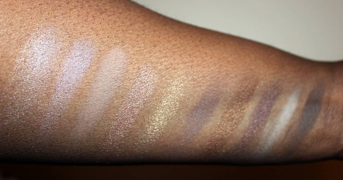 Beautpie Neutral Palette Swatches Dark Skin