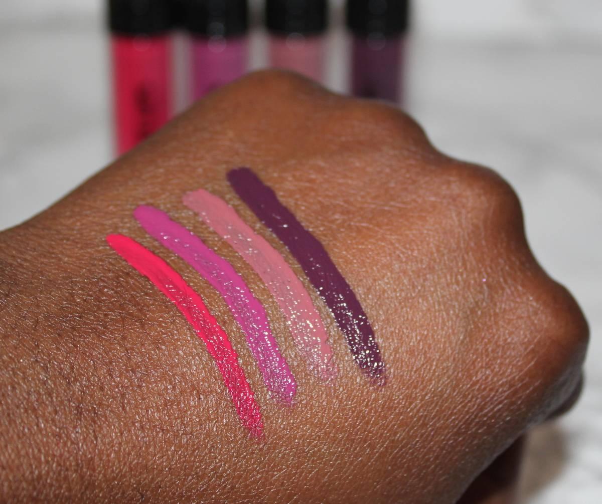 GOSH SS17 Liquid Matte Lips