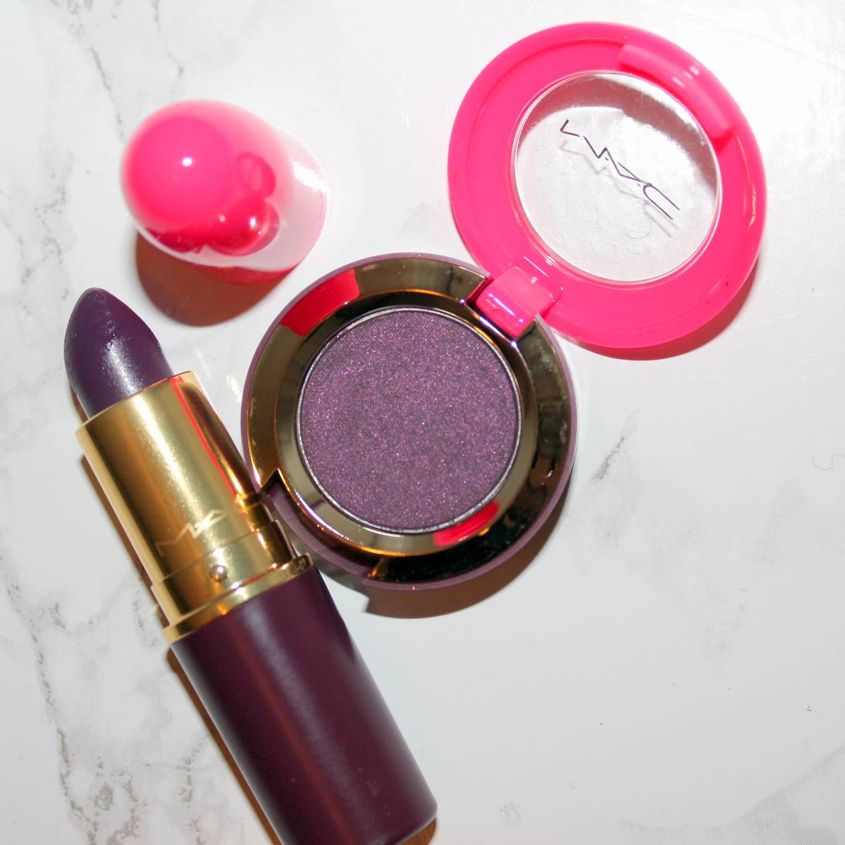 MAC Nutcracker Sweet Dark Lullaby and Leap of Delight