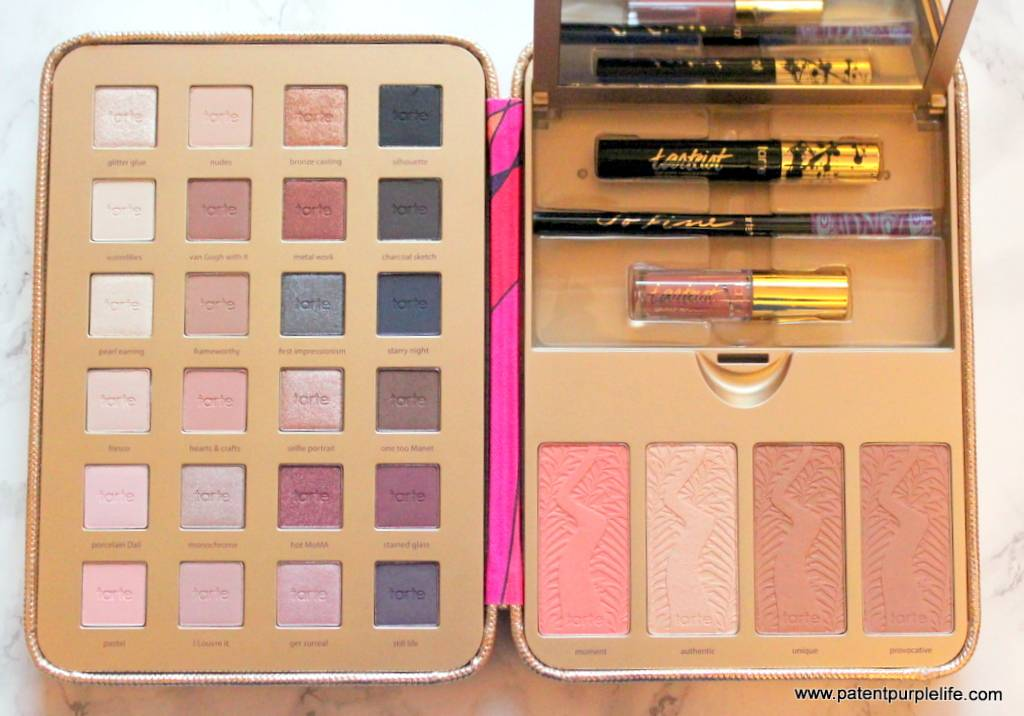 Tarte Cosmetics Pretty Paintbox Collectors Makeup Case