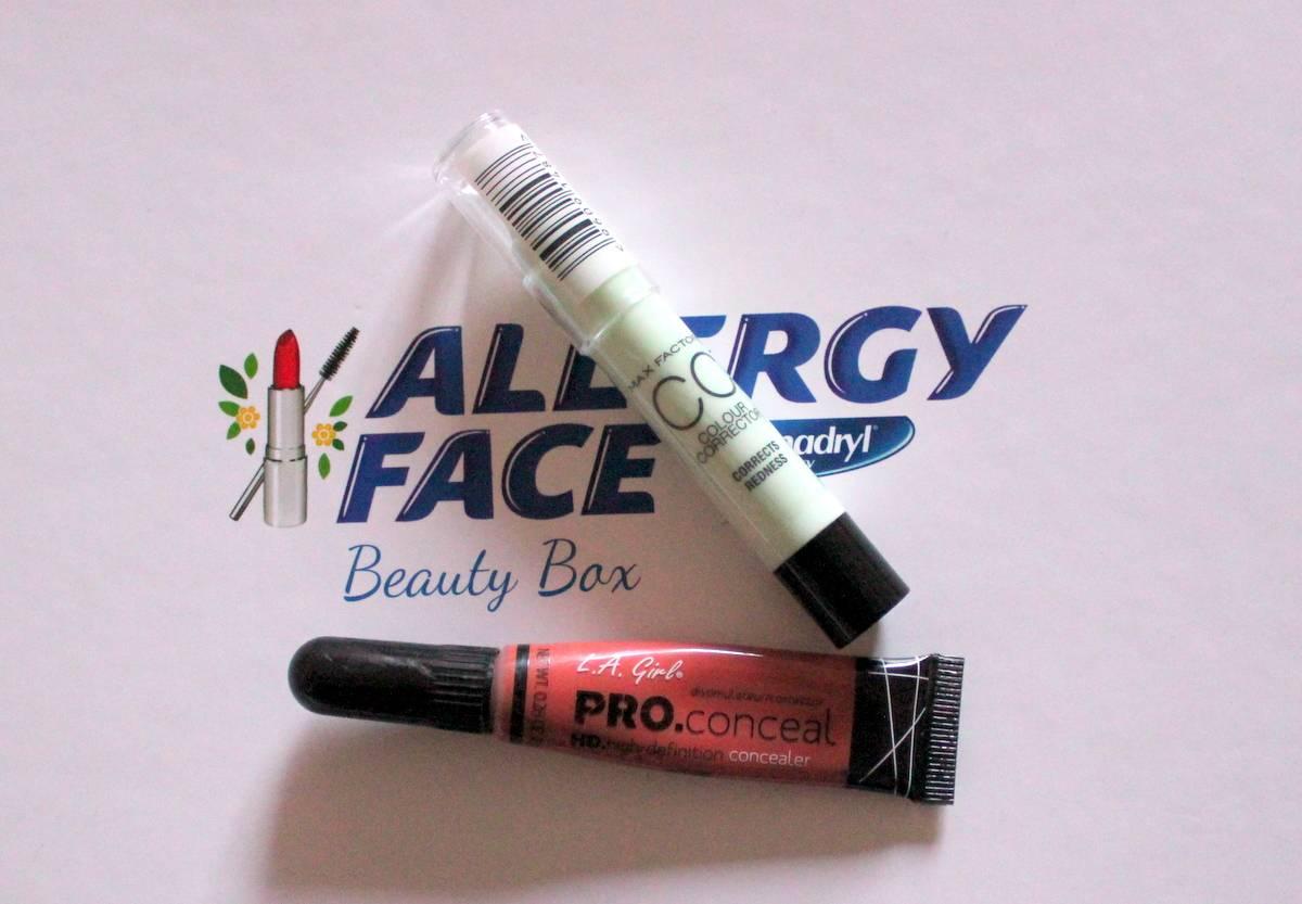 Benedryl Allergy Face