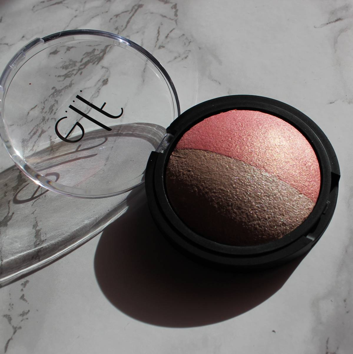 e.l.f. baked blush and highlighter duo