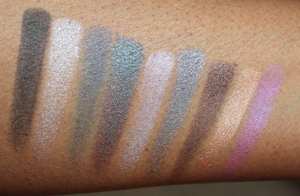 MUFE Artist Palette Swatches Dark Skin