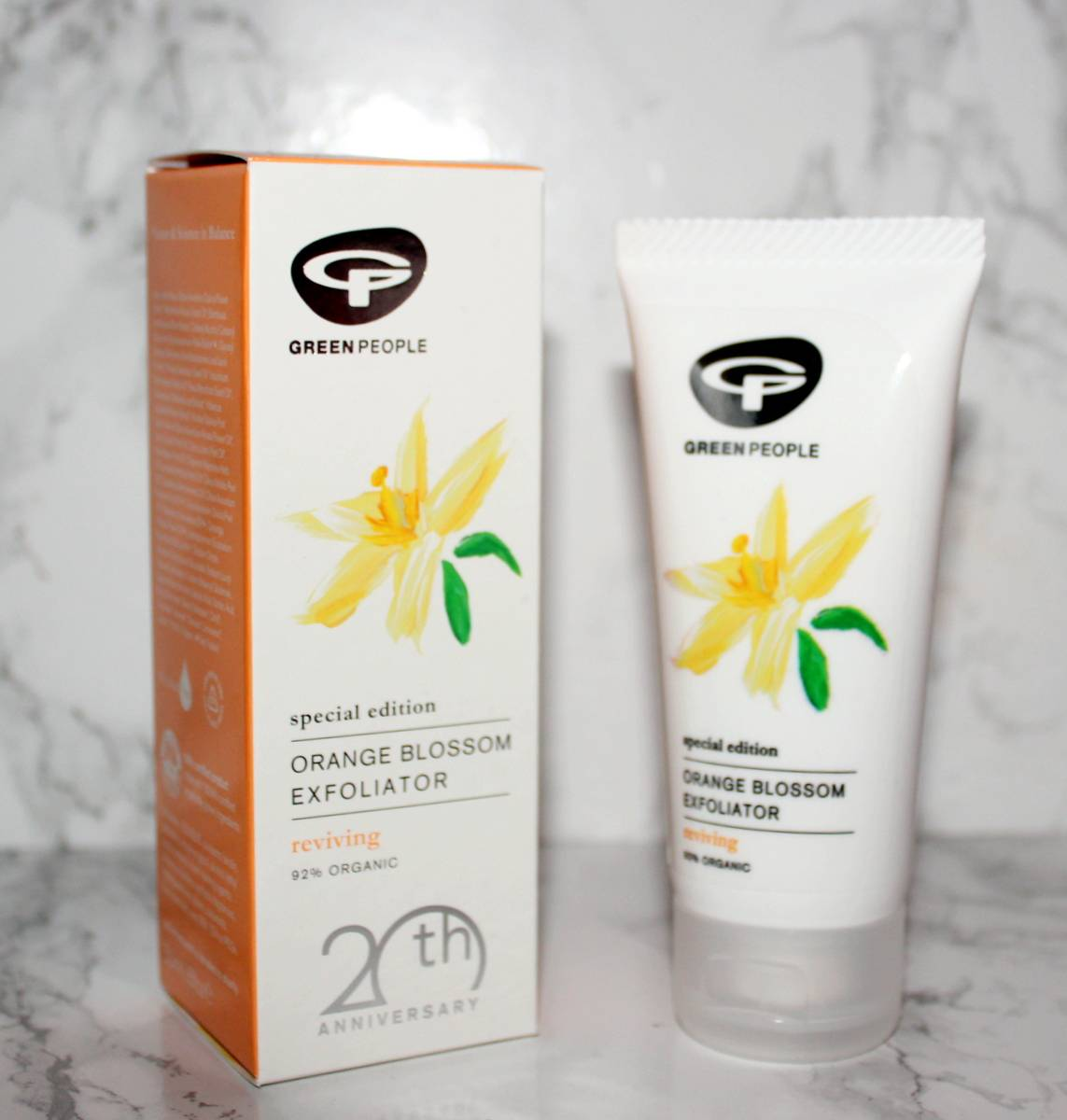 Green People Orange Blossom Exfoliato