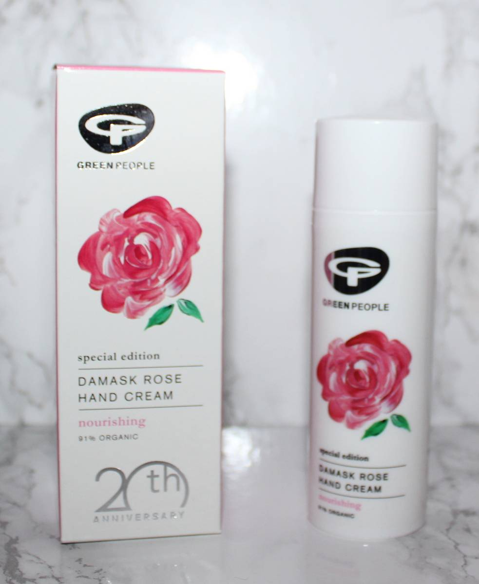 Green People Rose Damask Hand Cream