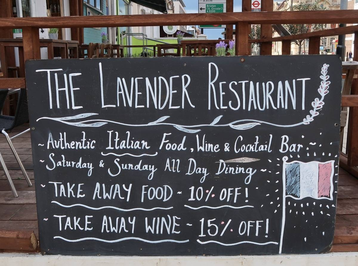 The Lavender - External Board