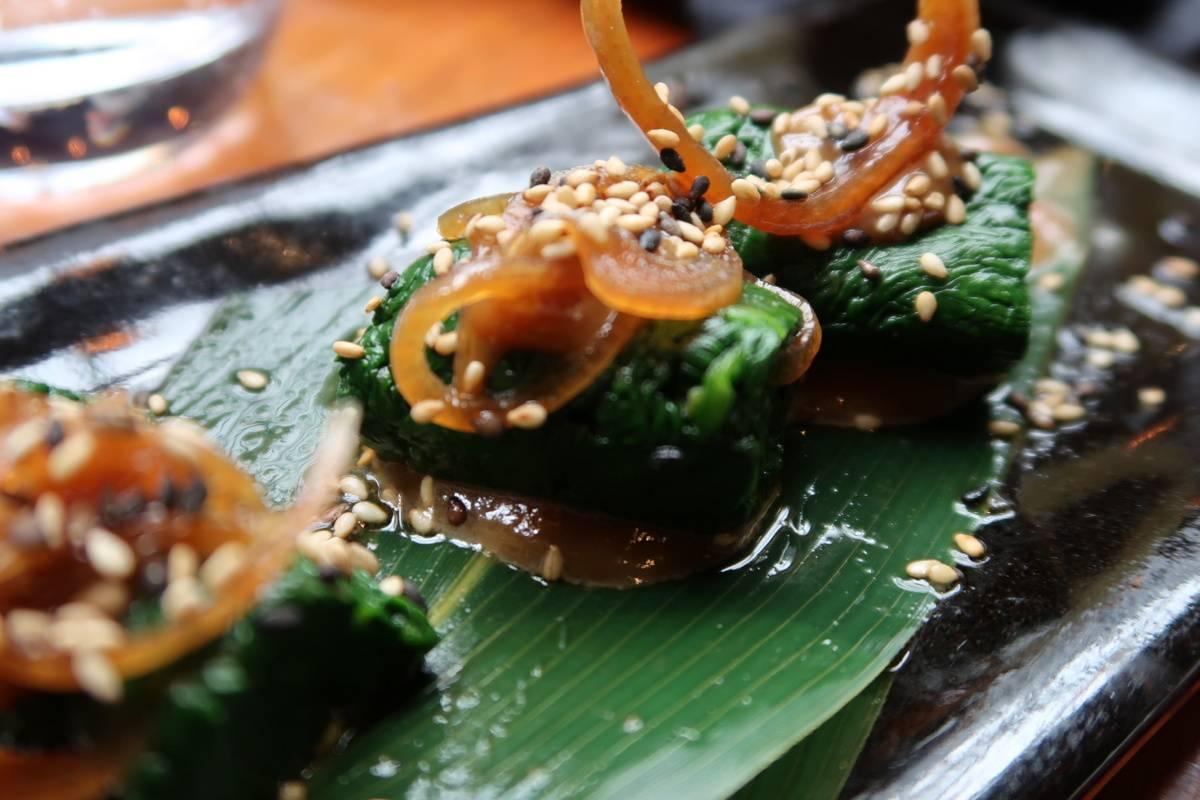 Tsunami Ohitashi Blanched Spinach