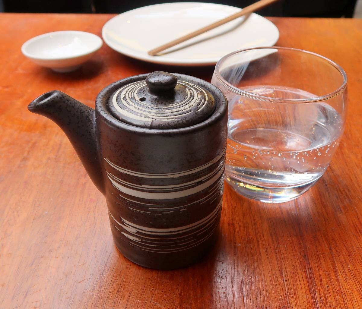 Tsunami Soy Sauce and Water