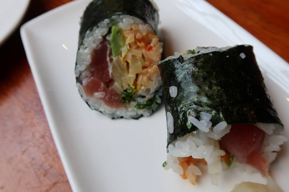Tsunami Spicy Tuna Wrap