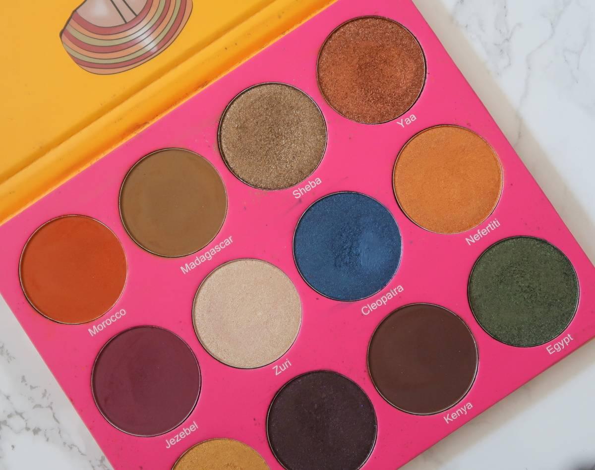 Top Five Eyeshadow Brands (2018 Edit)