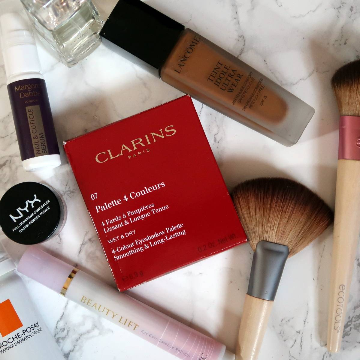 Clarins Lovely Rose eyeshadow quad