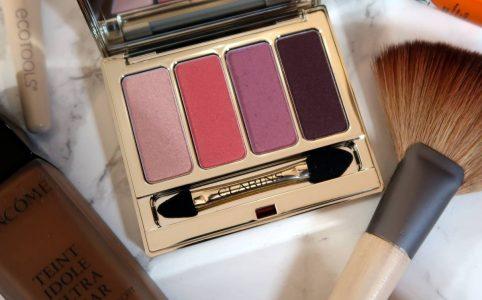 Clarins Lovely Rose eyeshadow quad