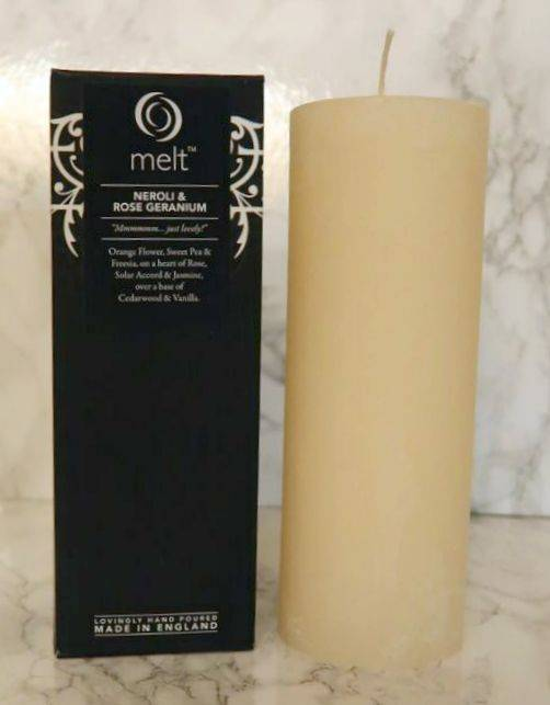 Melt Neroli and Rose Candle