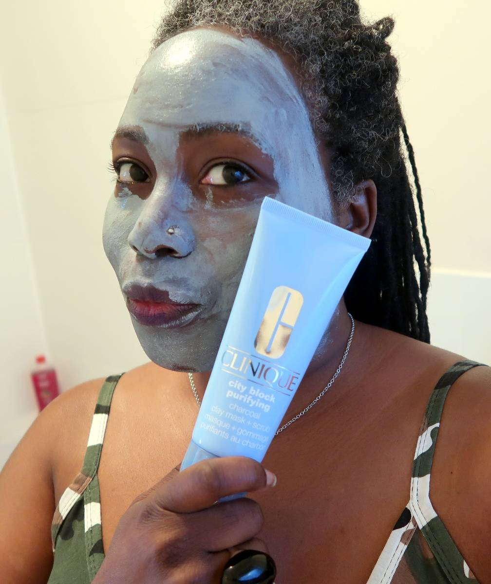 Clinique Purifying Charcoal Clay Mask and Scrub